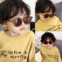 Heißer Verkauf cool 2-10 Jahre Kinder Sonnenbrille Sonnenbrille für Kinder Jungen Mädchen Mode Eyewares Beschichtungslinse UV 400 20 stücke