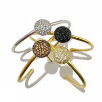 2021 tennis bracelet mens gold copper bangle high end womens jewelry fashion engagement gift love charm bracelets for girls open diamond bangles luxury jewellery