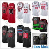 Impresso de basquete personalizado 0 Coby Branco Zach Lavine Lauri Markkanen Kris 32 Dunn Wendell 34 Carter Jr. Denzel 45 Valentine Jerseys