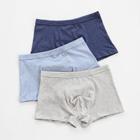 Clase A Color Spinning Pure Men Cotton Boxer Childrenwear