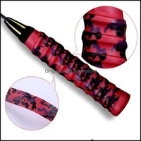 Safety Athletic Outdoor As Sports & Outdoorsanti-Slip Badminton Grip Camouflage Print Tennis Overgrip Racket Band Over Sweat For Padel Z5Z0