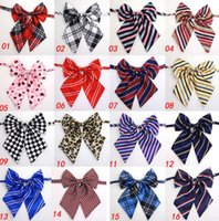 Apparel Home & Garden50Pc Lot Sale Colorf Large Pet Bow Ties Neckties Grooming Supplies For Big Dog And Middle Mixed Color Drop Delivery 202