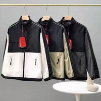 Mens jacket sportswear designe hoodies parka Spring and Autumn Coat Hooded Zipper Panelled Epaulet bomber jacket motorcycle face north jacke v4SP#