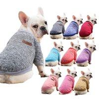 Мода с несколькими цветными свитерами для собак