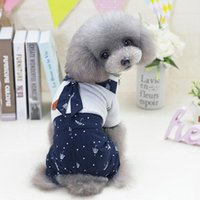 Dog Apparel Pet Shirt Spring And Summer Star Print Dresses Vest Costumes Clothes Sukienka Dla Psa