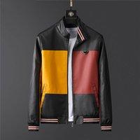 디자이너 망 재킷 럭셔리 편지 스타일 코트 고품질 방풍 캐주얼 봄 및 가을 의류 M-3XL