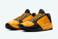 키즈 블랙 맘바 5 Bruce Lee와 농구 신발이 상자 남성 여성 여성 좋은 스포츠 아울렛 크기 4-12