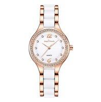 Newest Arrival Ceramic Quartz Movement Womens Watch Diamond Ladies Watches Life Waterproof Favorite Wristwatches Wholesale