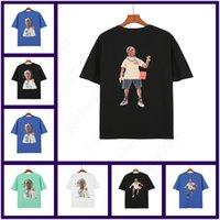 2021 Wiosna Letnie Męskie T Shirt Styl Street Krótki Rękaw Okrągły Neck Moda Food Drukowane logo Damskie Tshirt Oversize S-XL