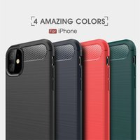 Carbon Fiber Cases For iPhone 13 11 12 Pro Mini X Xr Xs Max 6 6S 7 8 Plus Phone Cover