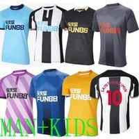 Jerseys de fútbol unido 21 22 nuevo castillo shelvey wilson 2021 de distancia Camisetas Joelinton Fraser Jersey Camisa de fútbol Tercera Almiron Ritchie Kids Lascelles