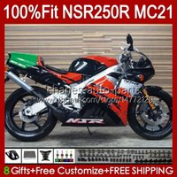 OEM-Injektion für Honda NSR250 NSR 250 R NSR250R 1990 1991 1992 1993 103HC.73 MC21 NSR 250R PGM3 NSR250RR 90 91 92 93 Verkleidungen rot glänzend
