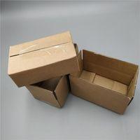 26 * 15 * 9cm 10pcs 갈색 카톤 스토리지 선물 골판지 종이 포장 상자 광장 3 층 골판지 배송 상자