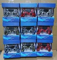 Camouflage 4 Colori PS4 Bluetooth wireless Gamepad Shock4 Controller PlayStation per controller PS4 con pacchetto al dettaglio