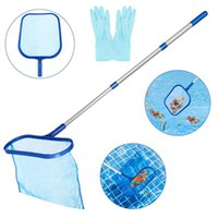 Pool & Accessories Swimming Cleaning Net Professional Leaf Rake Deep Bag Pond Skimmer Garbage