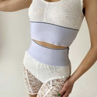 Spitze BHs Slip Yoga Sports Sets Womens Unterwäsche Brief Ribbon Sport Weste Shorts für Frauen