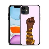 Siyah Lives Matter iPhone Kılıfı Siyah Adam Sigara aynı zamanda Telefon Kılıfı Nefes alamıyorum iphone 6 7 8 Artı X XR 11 12 Pro 12 12 Mini