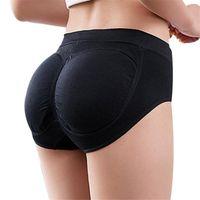 Frauenhöschen Frauen nahtlose Bulifter Gepolsterte Enhancer Unterwäsche Butt-Liftforming CNT 66