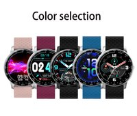 H30 Smart Watch Fitness Tracker Real Heart Rate Monitor Wrist Watch Wristband Smartband Flera funktioner med 1,28 tum Oled Display