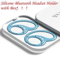 4 couleurs Silicone Keekods Bluetooth Headset Titulaire anti-goutte avec boîte Sprote Exécuter Écouteur Couvre-oreillette Couvre-casse Couverture de protection par mer LLA508