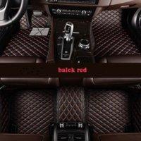 Benutzerdefinierte 5 Sitz Auto Fußmatten für Porsche Cayenne Panamera Macan Cayman Boxster 718 911 Alle Modelle Autüter