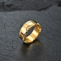 Anneaux de mariage Fashion Simple Micro-set Diamond Ring Golden Imitation Zircon Unisexe pour femmes Hommes Haute Qualité Bijoux Cadeau