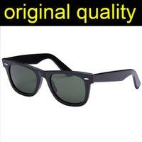 Top Quality 2140-50mm 54mm Lente de vidro Óculos de sol Mens Mulheres Acetate Frame Sun Óculos Homens Mulheres Originais Caso de Couro Pacotes