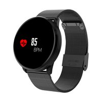 M 9 pulsera inteligente con pantalla a prueba de agua a prueba de agua Ristant Sports Watch Pedómetro y medición de ritmo cardíaco adecuado para Android