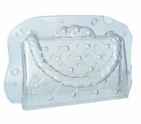 Новый обеденный пластиковый шоколад формы 3D DIY Handmade торт леди сумка шоколадная плесень поликарбонатная сумка конфеты украшения торта инструменты формы
