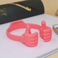 휴대 전화 마운트 홀더 다기능 태블릿 스탠드 iPad 스마트 폰용 긴 엄지 모양의 게으른 액세서리 (임의의 색상)