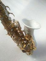 Новые высококачественные сопрано саксофон Янагисава логотип белый саксофон изогнутые сопрано саксофон полные фитинги