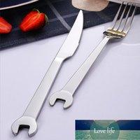 Paslanmaz Çelik Anahtarı Şekli Çatal Kaşık Bıçak Yemeği Sofra Meyve Tatlı Kahve Biftek Ev Dekorasyon