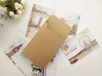 Tebrik kartı ambalaj karton kutu zarf tipi kartpostallar hediye kutuları 15.5 * 10.8 * 1.5 cm 268 s2