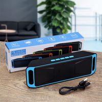 Portable Speakers Boombox Wireless Outdoor Bluetooth Speaker, Dual Speaker Mini Support Card Playback, FM Radio, U Disk