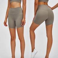 L-08 Formation Shorts de yoga Haute hauteur Nue Sensation Naked Elastic Sports Sports Femme Pantalon Chaude Chaud Pantalon de Yoga Tenue de sport Sportswear Fitness Slim Fit