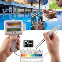 Pool & Accessories PH Chlorine Meter Tester And CL2 2 In 1 Water Quality Testing Device Measuring For Swimming Aquarium