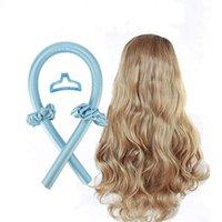 Heatless Curling Rod Headband No Heat Curls Ribbon Hair Rollers Sleeping Soft DIY Curlers Styling Tools