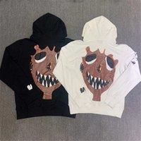 Venganza Bad XX Vibes Forever Sudadera de las mujeres de los hombres 1: 1 Suéter de algodón de alta calidad con capucha Sudaderas de graffiti 6Qk