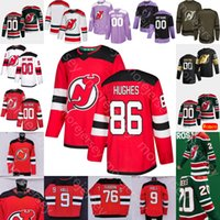 Personalizzato 2021 New Jersey Devils Ice Hockey Jersey sarà Butcher Connor Carrick Eric Comrie Aaron Dell Foote Gusev Johnsson Kulikov Kuokkanen