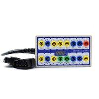 Ferramentas de diagnóstico OBD 2 Tempo Saving Breakout Box Detector Detector Tester Manual Acessórios Comutação rápida Linha de cabo Conector Auto