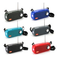 TG613 Bluetooth Sem Fio Alto-falantes Subwoofers Portáteis Loudspeaker Handsfree Perfil Stereo Bass 1200mAh Bateria Suporte TF Cartão USB AUX Linha TG504 TG109