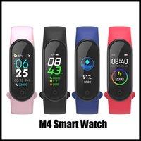 M4 Coloré Screen Smart Band Fitness Tracker Watch Bracelet Sport Fort cardiaque 0.96 pouce Smartband Monitor Moniteur Santé Bracelet de santé PK MI Bande 4