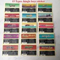 15 Türleri Orman Erkek Çanta Sticker 3.5 Gram Kaliforniya için Uygun Maylar Çanta 102 * 102mm Fermuar Plastik Torba ile Lezzet Etiket Çıkartmalar