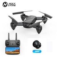 Kutsal taş HS650 kamera ile katlanabilir dron HD 1080 p rc helikopter drone profesyonel jest ses kontrolü ile quadcopter