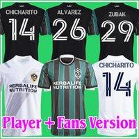 Фанаты игрока Версия 21 22 La Galaxy Chicharito Soccer Technys Inter Miami Atlanta United Lafc Vela York City 2021 2122 Футбольные рубашки