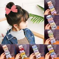 Hair Accessories 5 Pcs Set Baby Clips Flower Lattice Bows Kids Girl Hairpins Plaid Dot Children Clip Barrettes Sweet