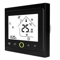 4 tuyaux WiFi Smart Climatiseur central Thermostat Thermostat Température Température Contrôleur Ventilateur Unité Travailler avec Alexa Home