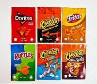 Doritos Fritos Ruffles Personalizzato Snack Snack Edibles Packaging Mylar Bags 710 Confezione sourgummi per formaggio originale Cerniera costiera commestibile Bagcheetos