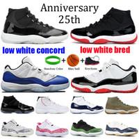 11 Mens 11s Scarpe da Basket Nuovo Concord 45 Platinum Tint Space Jam Gym Red Win Come 96 XI Designer Sneakers Uomo Scarpe sportive