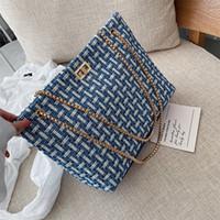 HBP Luxurys Design Couleur Femmes Femmes Sacs fourre-tout Sauvages Sac shopping Sac à provisions 2021 Golden Chain Butense Sac à bourse
